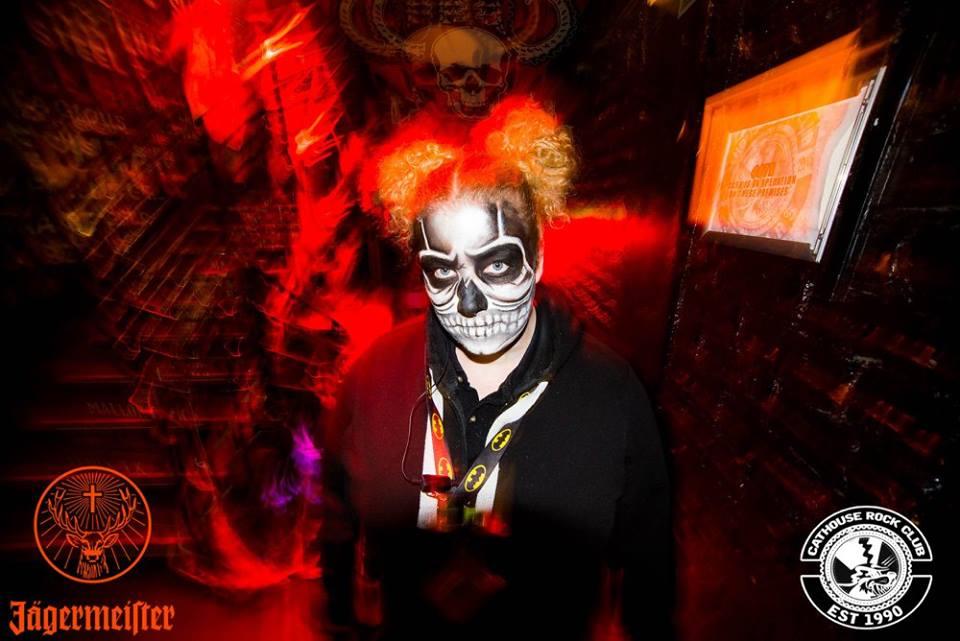 Halloween Ideas skull face