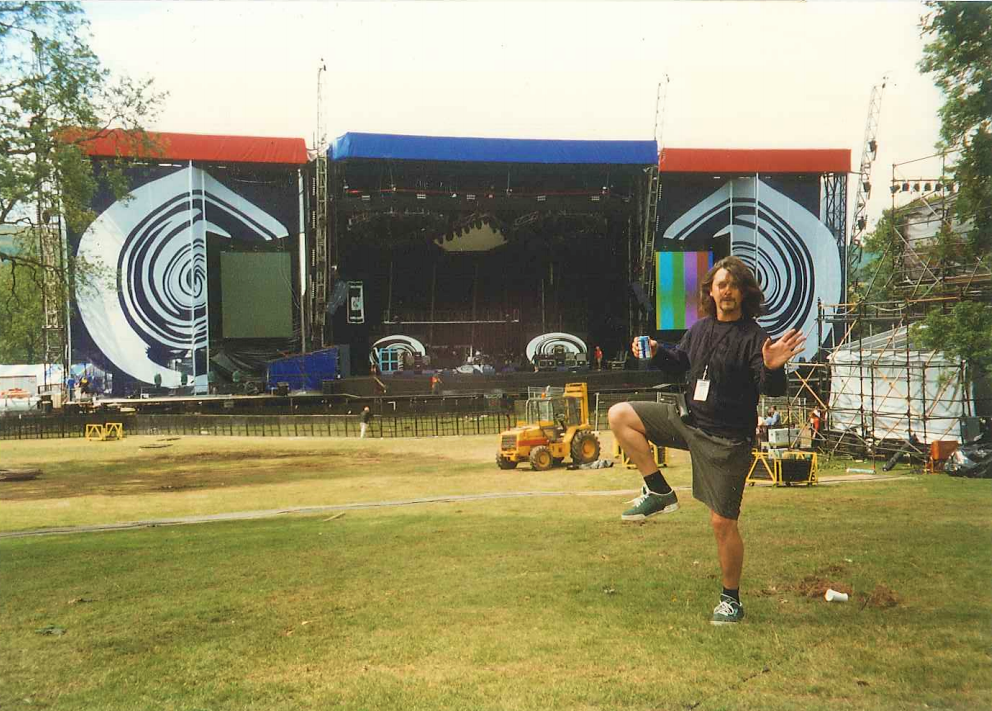 Hold Fast Entertainment Gigs - Loch Lomond Oasis 1996